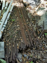 black and brown half inch rebar 87 in Long $ fence Harpers Ferry, 25425
