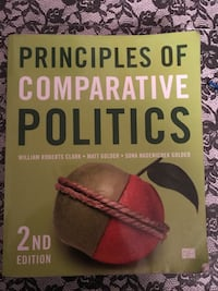 principles of comparative Politics book 2nd edition Tallahassee, 32303