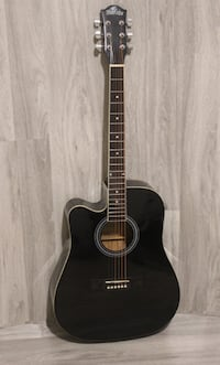 Left handed acoustic guitar brand new 41 inch full size black Richmond Hill