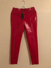 Red leather Armani Exchange leggings North Bergen, 07047
