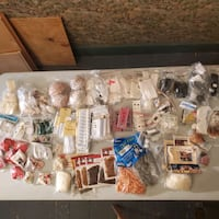 Doll making parts and accessories