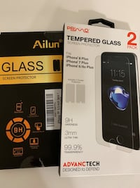 Tempered Glass for iPhone 6/6s , 7Plus & 8plus Oxnard, 93030