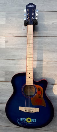 Blue acoustic guitar for beginners brand new Toronto