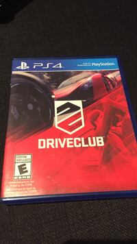 Sony PS4 Driveclub game  Mississauga