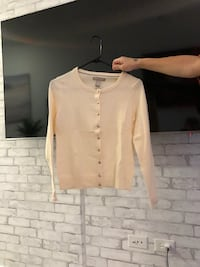 Cream cardigan XS banana republic