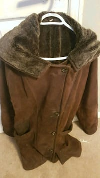 brown button-up coat Pickering, L1V 5X6
