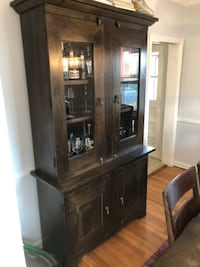 Crate & Barrel China cabinet  NEWYORK