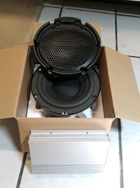 """8"""" Infinity Subwoofer and Amp Hot Springs, 71901"""