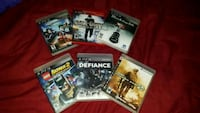 four assorted PS3 game cases Pasadena, 77502