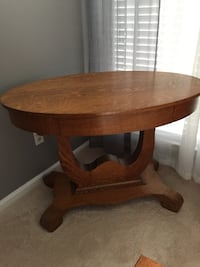 Antique oval library table Reston, 20194
