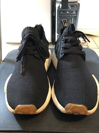 Adidas NMD R1 - Black/Gum New York, 11367