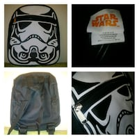NEW: star wars stormtrooper toddler mini backpack  Just over 10'' tall Edmonton, T6X 1J9
