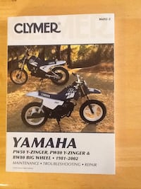 Clymer yamaha  manual 2410 mi