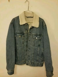 H&M Pile-lined Denim Jacket (Light Demin Blue) Toronto, M1V 5E3