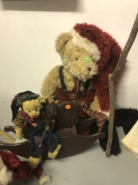 2 bears for sale (boyds and cottage collectibles) null