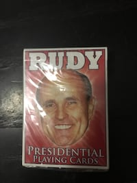Presidential playing cards. Collectors item or great for a gag gift. Still in wrapper. Chicago, 60618