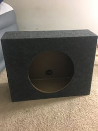 black and gray subwoofer enclosure Columbus, 43228