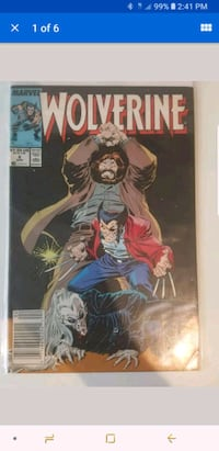 Wolverine #6 comic  Indio, 92201