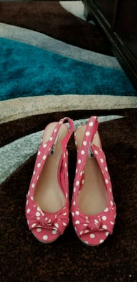 Red and white polka dot shoes  Virginia Beach, 23456