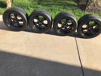 """18"""" staggered mustang wheels"""