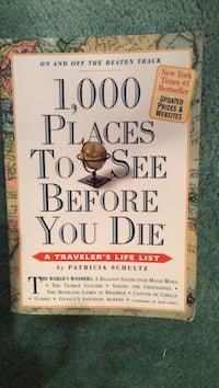 1,000 places to see before you die book Regina, S4V