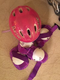 Barbie Pink and white helmet and gear Ashburn, 20148