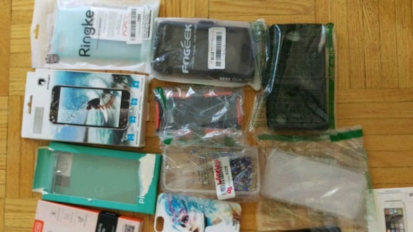 Lot of iPhone cases