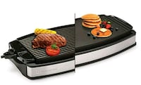 New Wolfgang Puck Reversible Grill & Griddle w/ Sp 527 km