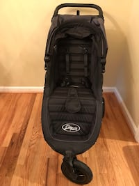 Baby Jogger 2016 City Mini GT Single Stroller (Black color) wit Car Seat Adapter Single for Chicco and Peg-Perego Potomac, 20854