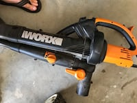 black and orange Worx leaf blower Gibsonton, 33534