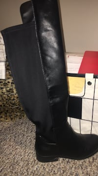 Size 6.5 black tall boots  Clarkstown, 10954
