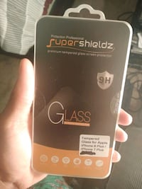 IPhone 7/8 plus glass screen protector Victorville