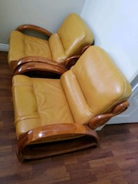 hand crafted Italian leather chairs Victoria, V9B 6J5