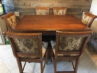 Rare Pub Table and Chairs with Leaf
