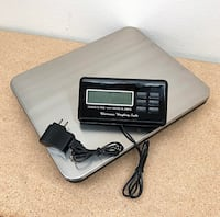 New $45  LCD AC Digital Floor Bench Scale Postal Platform Shipping 300KG Weigh 660lbs  Whittier