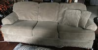 Almost new - Alma Bay cream color sofa & loveseat