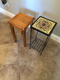 Plant stands x2 Rocklin, 95677