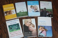 $15 for all Autism related books Vaughan
