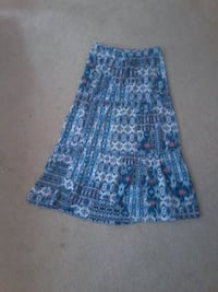 women's blue and white skirt Manassas, 20112