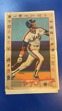 DARRYL STRAWBERRY DAILY NEWS POSTER