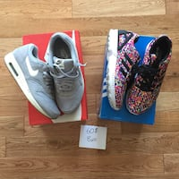 Nike air max 1 adidas ZX flux 8 Us homme  784 km