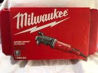 """Brand new never used Milwaukee Super HAWG 1/2"""" chuck high power right angle drill kit. Retails for $349  Vacaville, 95687"""