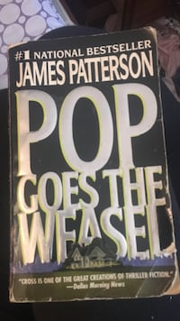 Pop Goes The Weasel James Patterson book
