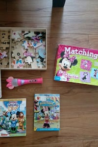 Minnie Mouse movie and game set