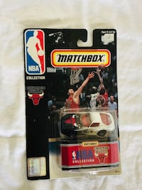 1998 Matchbox Chicago Bulls Diecast Toy Car NBA Collection BOX T12 Cockeysville, 21030