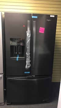 Whirlpool French door stainless steel refrigerator open box new special price  Windsor Mill, 21133