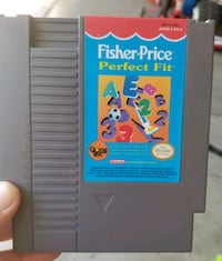 FISHER PRICE PERFECT FIT NES GAME Ceres