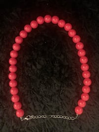 Vintage Red Beaded Necklace Toronto, M3H