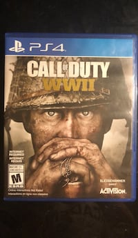 PS4 Call of Duty WWII case Lower Sackville, B4C 3C2
