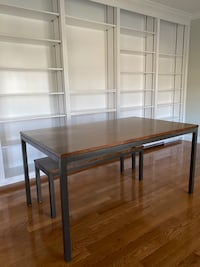 West Elm Dining Table and Bench